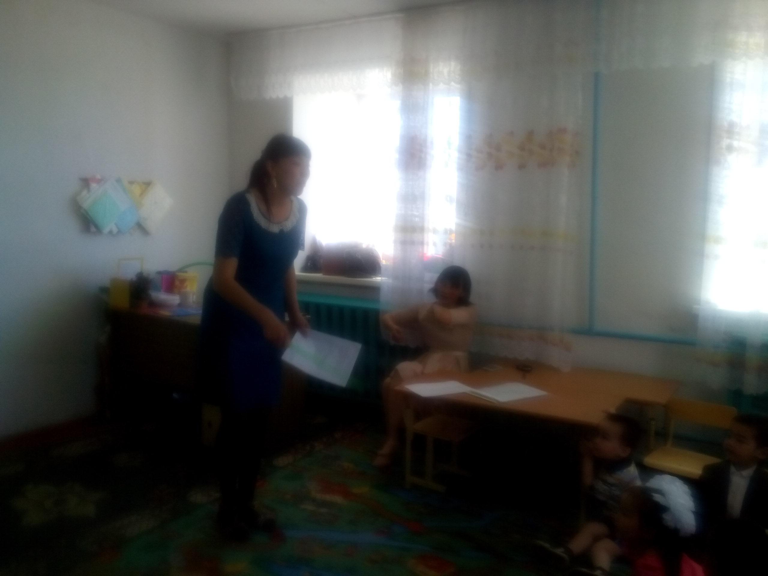презентация открытого занятия в доу